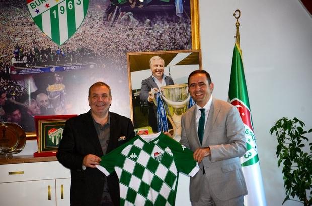 Bursaspor'a önemli ziyaretler