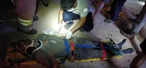 Mardin'de okul inşaatında çökme: 5 işçi yaralandı