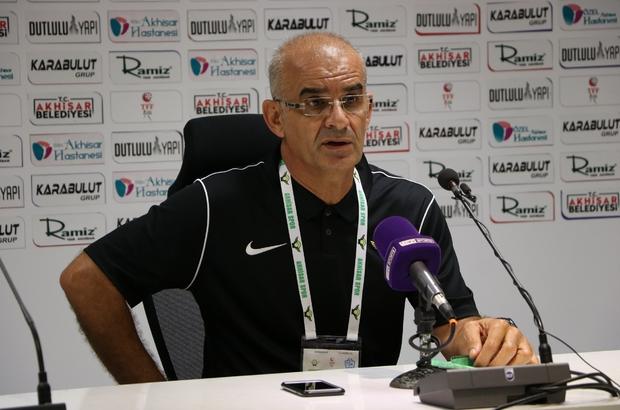 """Akhisar'da gol sesi çıkmadı Akhisarspor Teknik Direktörü Ercan Kahyaoğlu: """"3-4 tane net pozisyona girdik ama bazen de olmayınca da olmuyor"""" Tuzlaspor Teknik Direktörü Taner Taşkın: """"İlk maç itibariyle oyuncu grubumdan gayet memnunum"""""""