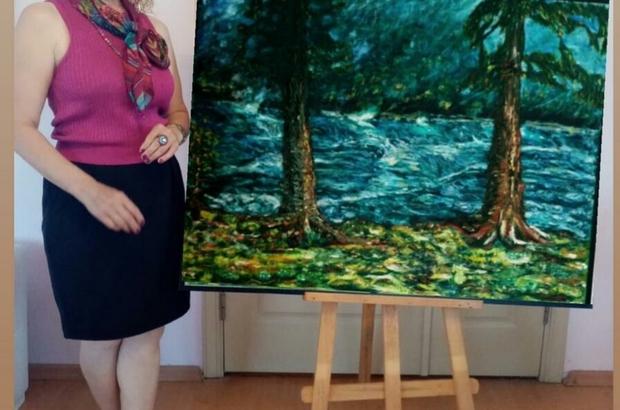 """Ressam Güher: """"Ormanlar nefesimizdir"""""""
