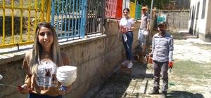 Şırnak'ta öğretmenlerden örnek davranış