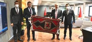 Milletvekili Toprak, Ulaştırma Bakanı Karaismailoğlu ile bir araya geldi