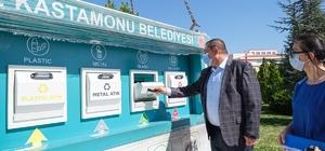 Kastamonu'da üç noktaya Mobil Atık Merkezi konuldu