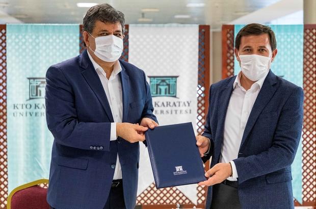 KTO Karatay Üniversitesi ile Karatay Belediyesi protokol imzaladı