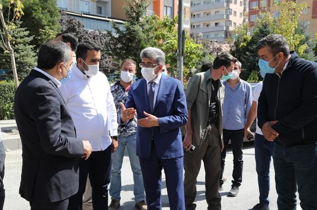 Kapıköy Gümrük Kapısı yaya geçişlerine açılıyor Van Valisi ve Büyükşehir Belediye Başkan Vekili Mehmet Emin Bilmez kentte sürdürülen çalışmaları inceledi