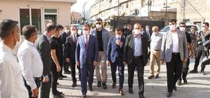 Vali Akbıyık'tan Şemdinli ve Derecik'e ziyaret