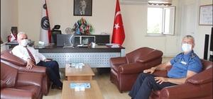 İl Müftüsü Erhun'dan POMEM Müdürü Günbey'e ziyaret