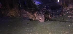 Lüleburgaz'da trafik kazası: 1 ölü, 4 yaralı