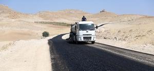 Mardin Büyükşehir Belediyesi kırsal yollarda çalışma başlattı