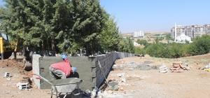 Kahta'da mezarlıklara yoğun bakım