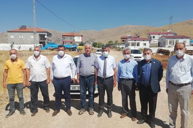 Doğanşehir'de asfalt çalışmaları devam ediyor
