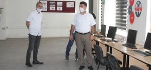 Kurtalan'da 3 okulda EBA destek noktası kuruldu