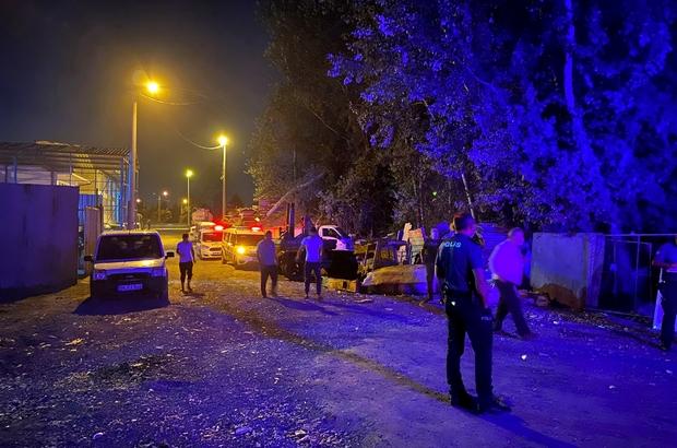 Sanayide bulunan hurdacı dükkanında şüpheli ölüm Polis ekipleri inceleme başlattı
