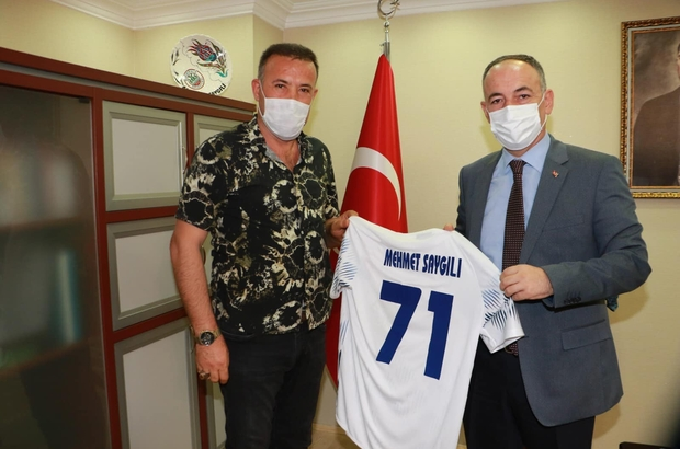Başkan Uca'dan Belediye Başkanı Saygılı'ya ziyaret