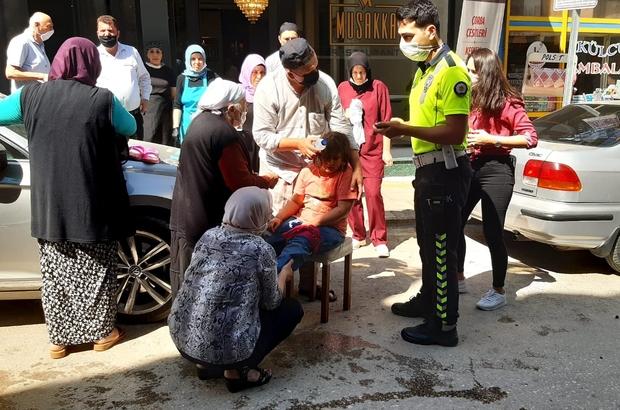 İstanbul'dan tatile gelen küçük kız kazada yaralandı Afyonkarahisar'a tatil için gelen küçük kız motosikletin çarpması sonucu yaralandı