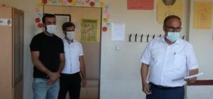 Alagöz, Sincik'te ki okulların durumunu yerinde gördü