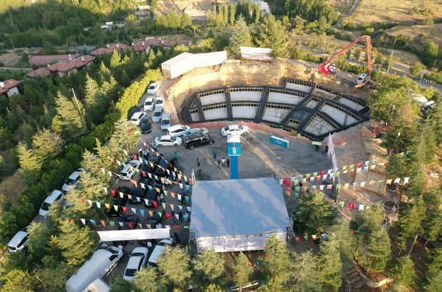 """Yeşilyurt'a Macera Parkı Çınar: """"Şahintepesini prestijli bir yatırımla turizm merkezine dönüştürüyoruz"""""""
