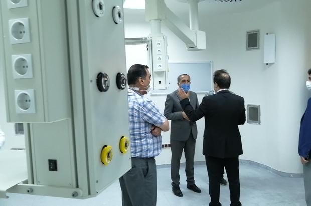 Erciş Şehit Rıdvan Çevik Devlet Hastanesi, PCR test cihazına kavuştu PCR test cihazı ile günde 500 ile 600 arası test yapılacak