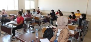 Müdür Tunçel'den destekleme ve yetiştirme kurslarına ziyaret