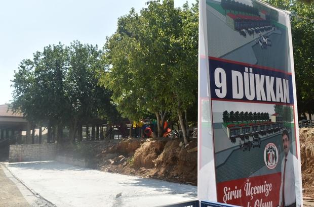 Karacasu'da 9 iş yeri yapımı projesinin temeli atıldı