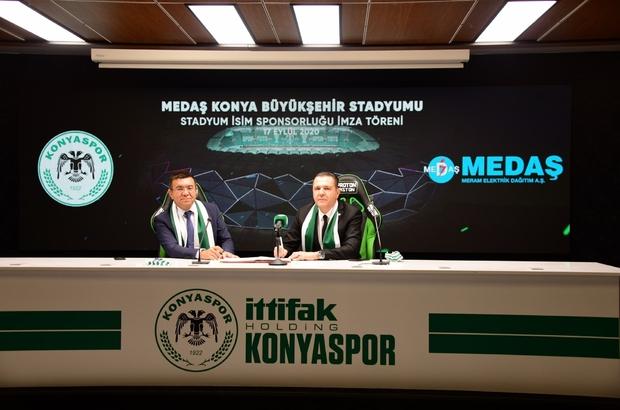 Konyaspor'un yeni stadyum sponsoru MEDAŞ