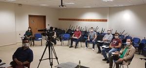 KBÜ'de Müzik Bölümü Özel Yetenek Sınavı online yapıldı