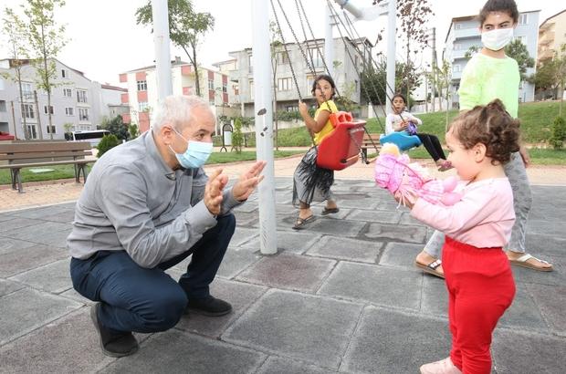 Büyükgöz'den Gebzeli çocuklara park müjdesi