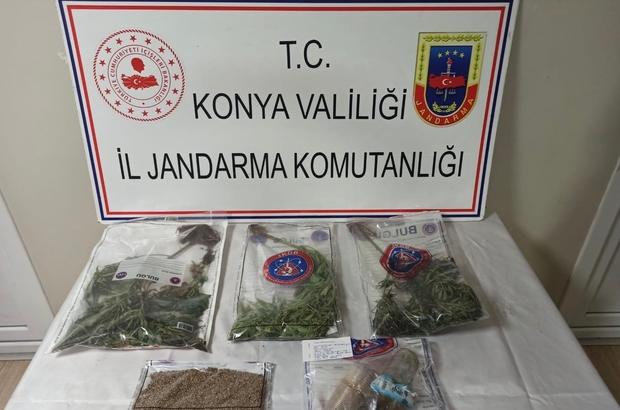 Konya'da kenevir operasyonu