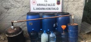 Kırıkkale'de kaçak rakı operasyonu: 950 litre ele geçirildi Evinin bahçesinde kaçak rakı üretirken yakalandı