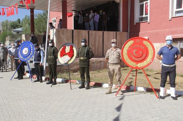Başkale'de 19 Eylül Gaziler Günü programı düzenlendi