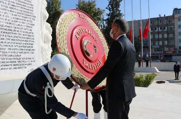 Adıyaman'da 19 Eylül Gaziler Günü kutlandı