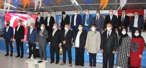 Çan AK Parti Kongresi'nde Ömer Şahin güven tazeledi