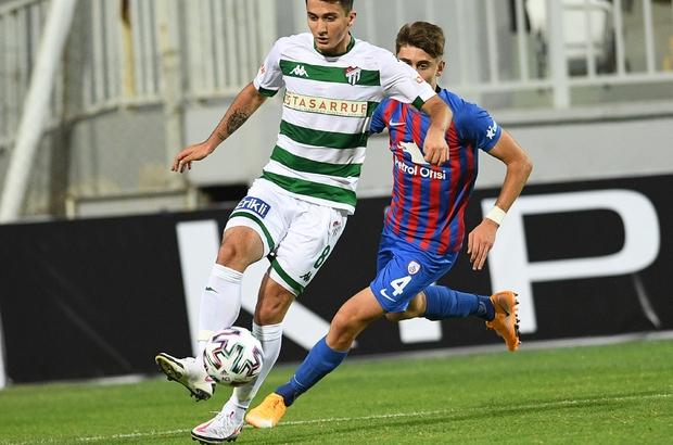 Bursaspor sezonun ilk iznini yapıyor
