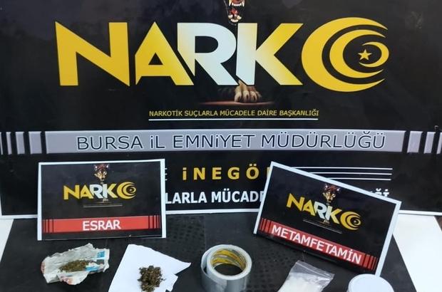 Bursa'da nefes kesen kovalamaca sonucu yakalandı Attığı çantada ve evinde uyuşturucu çıktı