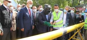 Bingöl Solhan'da doğalgaz için ilk kaynak yapıldı