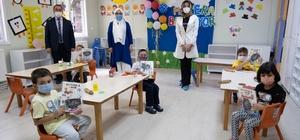 Başkan Vidinlioğlu'dan öğrencilere anlamlı hediye
