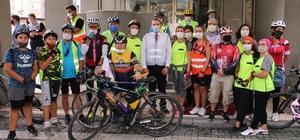 Başkan Tutuk bisikletçilerle pedal bastı Yalova 40 kilometre bisiklet yoluna kavuşacak
