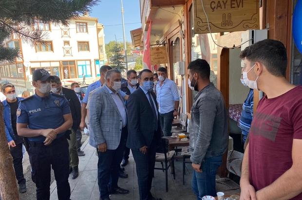 Şenkaya'da covid-19 denetimleri aralıksız sürüyor - Erzurum Haberleri