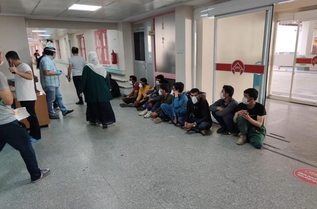 Batman'da 52 düzensiz göçmen yakalandı