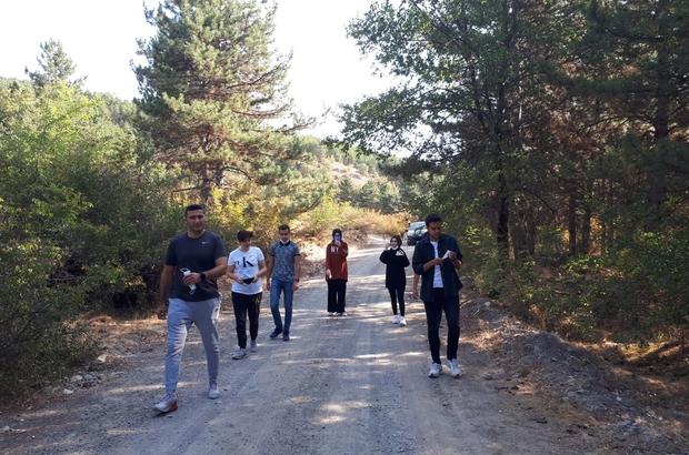 Tosya Gençlik Merkezi'nden gençlere doğa yürüyüşü etkinliği