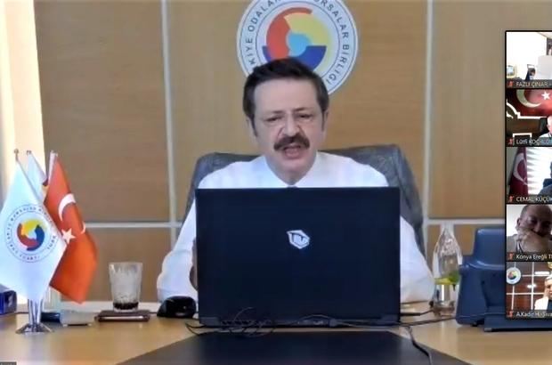 Hisarcıklıoğlu'ndan destek istedi VKS aracılığıyla gerçekleştirilen İç Anadolu Bölge Toplantısın'da Sivas Ticaret Borsası Başkanı Abdulkadir Hastaoğlu, TOBB Başkanı Rifat Hisarcıklıoğlu'na Sivas'ın  sorunlarını iletti