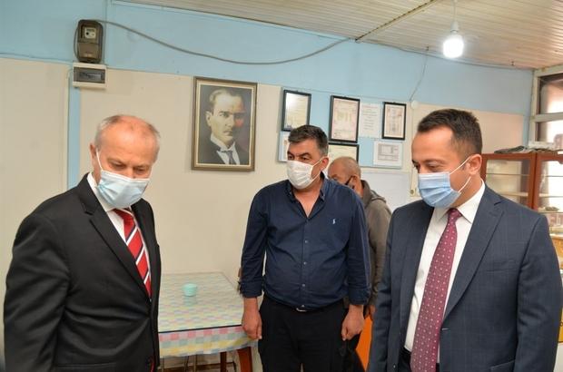 """Vali'den korona virüs denetimi Bilecik Valisi Bilal Şentürk: """"Pandemiye karşı elimizdeki tek tedbir temizlik, maske, mesafe"""""""