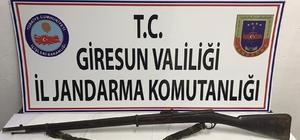 Giresun'da piyade tüfeği operasyonu