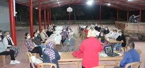 Kadın çiftçilere kooperatifçilik eğitimi