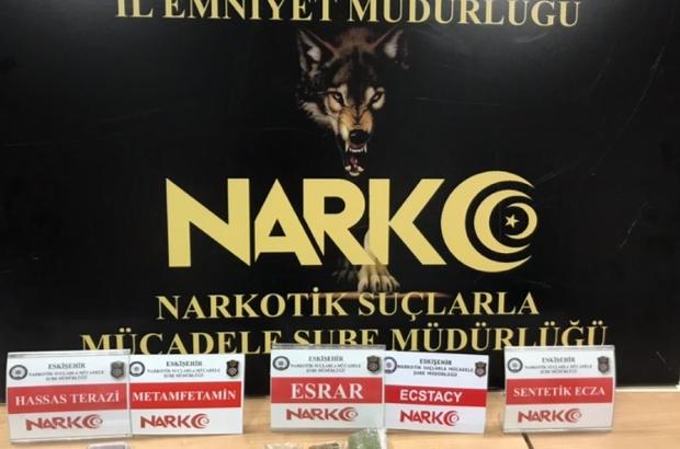 Eskişehir Narkotim sokakları uyuşturucudan arındırmaya devam ediyor Eskişehir'de uyuşturucu operasyonu: 2 gözaltı