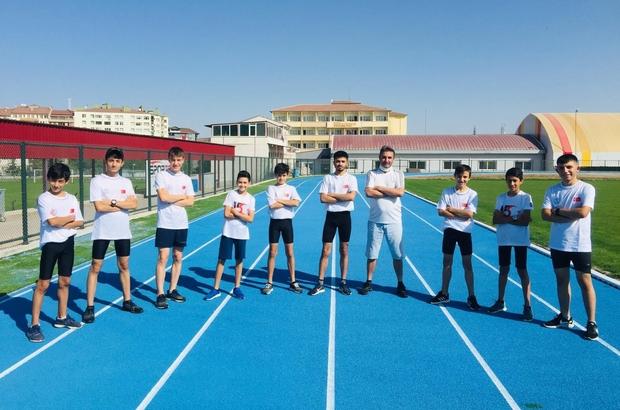 Nevşehirli genç sporcuları milli takım seçmeleri için Trabzon'da