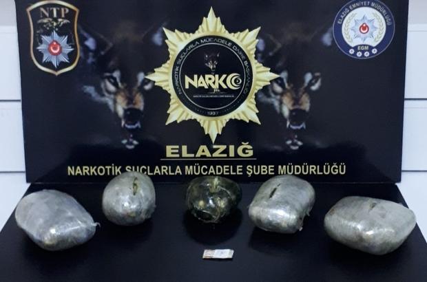 Elazığ'da uyuşturucu operasyonu: 3 tutuklama