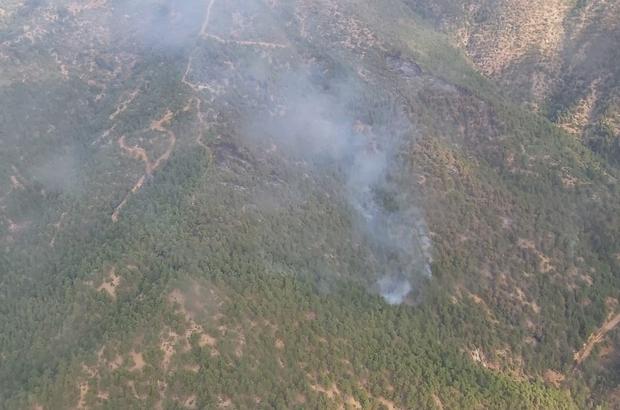 Eskişehir'de 70 hektar ormanlık alan kül oldu Orman yangını söndürülürken soğutma çalışmaları devam ediyor