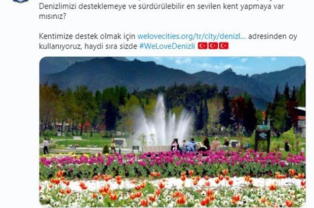 """Denizli tek yürek """"#WeLoveDenizli"""" diyor Denizli, dünya şampiyonu olmak için yarışıyor"""