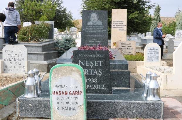 Merhum Neşet Ertaş, ölümünün 8. yılında Kırşehir'de anılıyor